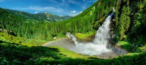 A Krimml vízesés: csodás látvány, jótékony levegő