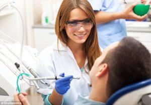 Első látogatás a fogorvosnál